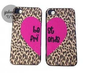 Leopard Best Friends iPhone cases