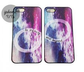 Galaxy TO INFINITY AN BEYOND best friends iPhone cases